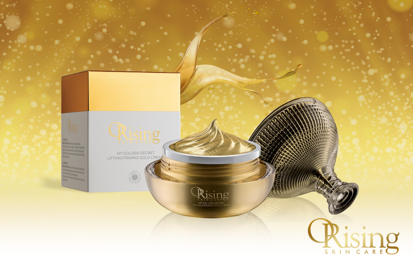 My Golden Secret Lifting Firming Gold Cream myosotis orising