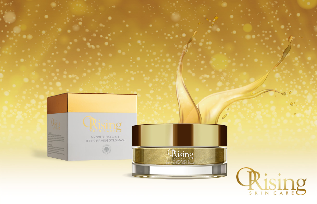My Golden Secret Lifting Firming Gold mask myosotis orising