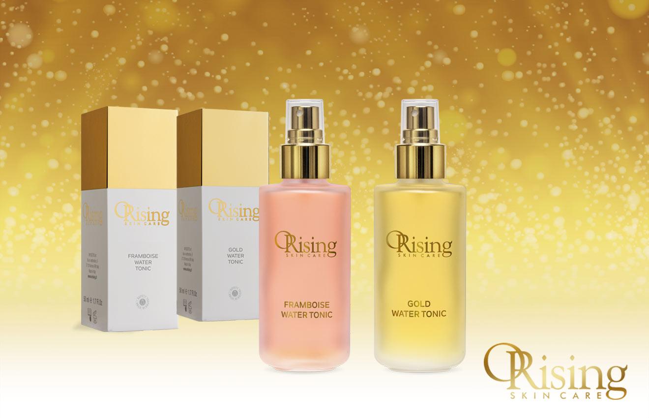 Gold Water Tonic Tonico vitalizzante che aiuta a mantenere la pelle morbida e tonificata.